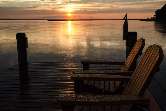 Bay-Water Sunset