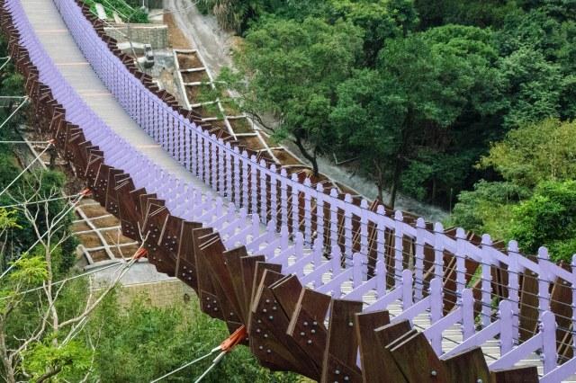 A Purple Bridge, Taipei, Taiwan