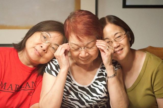Yvonne, Karin, Helen